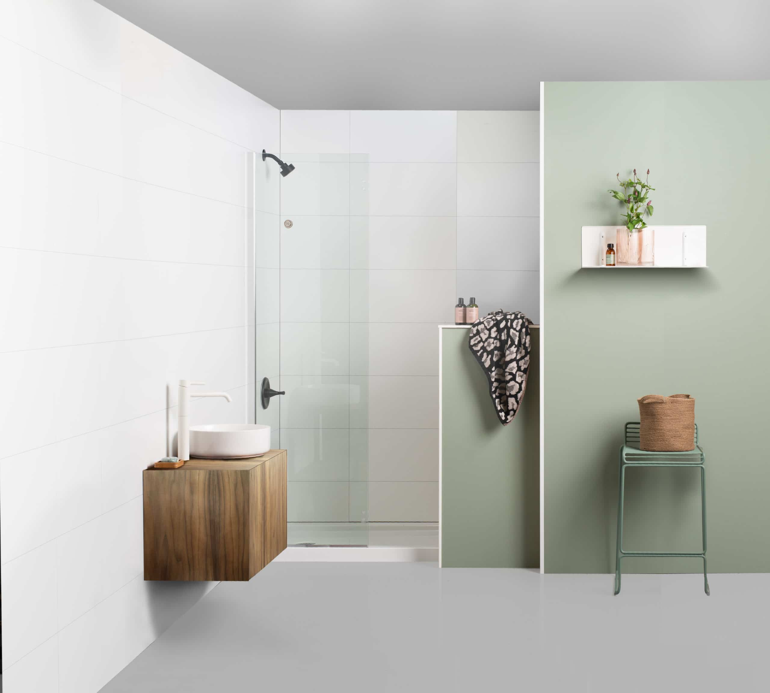 fibo  waterproof wall system for bathroom and other